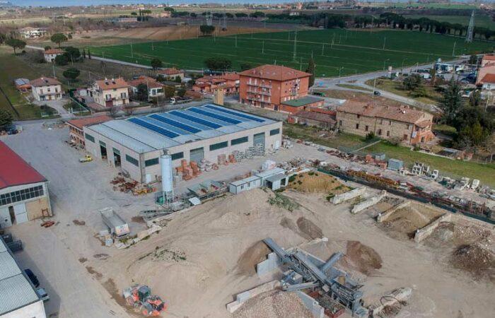 Nuovo impianto di triturazione e riciclo - Ricci edilizia 1
