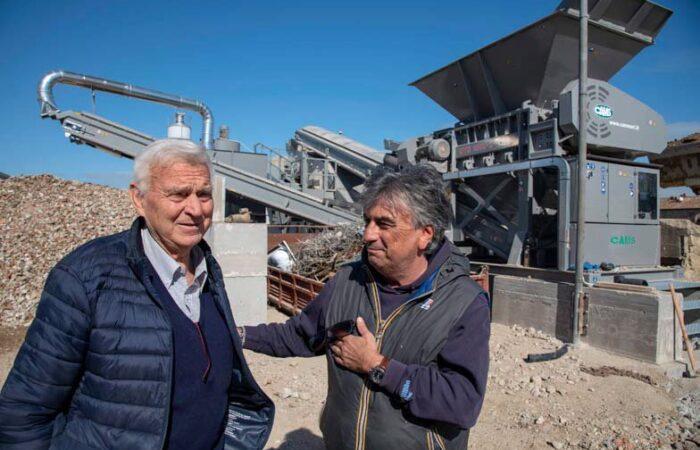 Nuovo impianto di triturazione e riciclo - Ricci edilizia 2