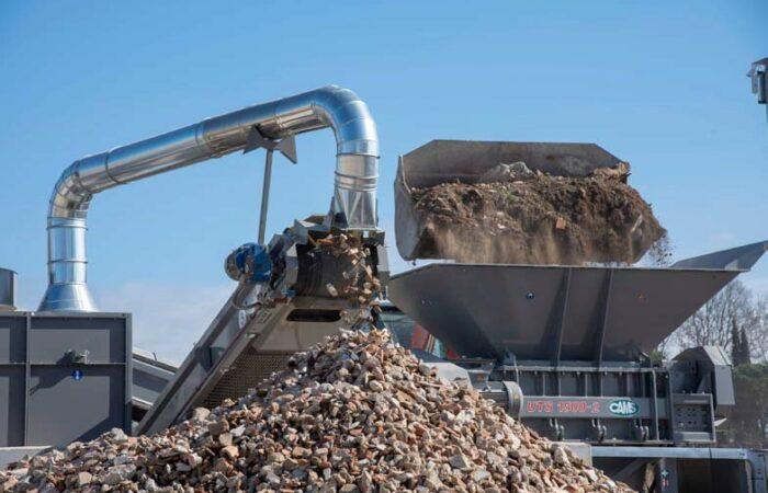 Nuovo impianto di triturazione e riciclo - Ricci edilizia 5